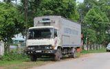 Đang làm nhiệm vụ, trung úy CSGT bị xe tải tông trọng thương
