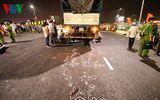 Tai nạn trên cầu vượt lớn nhất Việt Nam, một nam sinh tử vong