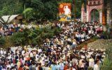 Lễ hội Đền Hùng: Cấm du khách, phóng viên sử dụng flycam