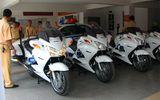 CSGT Đà Nẵng nhận 4 xe mô tô đặc chủng sản xuất tại Mỹ