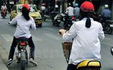 Từ hôm nay bắt đầu xử phạt hành vi không đội mũ bảo hiểm cho trẻ em