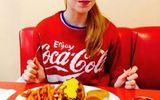 Hình ảnh gầy gò khủng khiếp của cô gái nghiện giảm cân