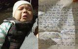 Bức thư đẫm nước mắt của người mẹ bỏ rơi bé trai kháu khỉnh