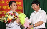 Niềm vui của vợ chồng ông Nguyễn Thanh Chấn trong ngày tòa xin lỗi