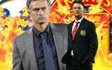 """Mourinho, Van Gaal """"đá đểu"""" nhau trước đại chiến"""