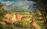 Bức tranh ẩn giấu 12 con vật khiến các 'thánh đoán' hoa mắt