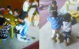 Trung Quốc dậy sóng dư luận với hình ảnh bắt trẻ mẫu giáo muốn ăn phải quỳ
