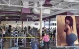 Cô gái bị nổ túi độn mông khi đang tập gym