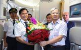 Vietnam Airlines đón nhận chiếc máy bay Boeing 787-9 Dreamliner đầu tiên