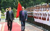Chủ tịch nước Trương Tấn Sang hội đàm với Tổng thống Bangladesh