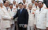 Chủ tịch nước gặp các thế hệ tướng lĩnh Công an nhân dân