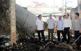 Khẩn trương khắc phục hậu quả vụ cháy chợ Bộng tại Hà Tĩnh