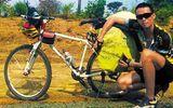 Chàng trai đạp xe đến châu Phi sau tranh cãi với người yêu