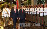 Chủ tịch nước Trương Tấn Sang hội đàm với Chủ tịch Cuba Raul Castro