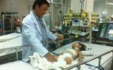 Phẫu thuật thành công cho bé 2 tuổi có khối u bướu khổng lồ ở gan