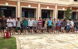 Đột kích sới gà tại Quảng Nam, tạm giữ 18 nghi can
