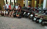 Triệt phá ổ nhóm đột nhập cơ quan nhà nước trộm xe máy