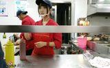 Cư dân mạng chao đảo vì nữ sinh hot girl bán cà phê