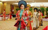 Á hậu Ngô Trà My đẹp nền nã với áo dài