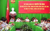 Thủ tướng làm việc với các tỉnh ĐBSCL về phòng, chống xâm nhập mặn