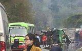 Tai nạn xe khách ít nhất 10 người thương vong trên đèo Đá Trắng