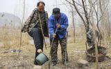 Xúc động chuyện hai người đàn ông mù, cụt tay cùng nhau trồng rừng