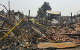 Cháy lớn thiêu rụi cửa hàng của 13 gia đình Việt kiều Thái Lan