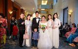 Hoàng Touliver sánh đôi Tóc Tiên dự đám cưới Nhật Thu