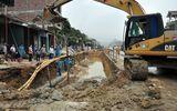 Quảng Ninh: Khắc phục sự cố vỡ 40m đường ống cấp nước sạch