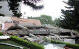 Dừng thi công công trình liền kề gây sập nhà 5 tầng tại Cao Bằng