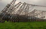 Giám định mẫu bê tông tại cột điện 500kV bị mưa giông quật đổ ở Bắc Giang