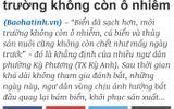Hà Tĩnh nói đã sạch, Quảng Bình vẫn tạm cấm du khách tắm biển