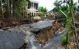 Cà Mau: Dân mất ăn mất ngủ vì liên tiếp xảy ra sụt lún đất diện rộng