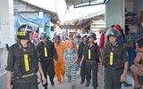 """Hàng trăm cảnh sát vây bắt """"bà trùm"""" ma túy ở Bình Thuận"""