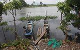 Một cơ sở sản xuất xả thải trực tiếp ra kênh nối sông Vàm Cỏ Đông