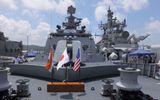 """Sức mạnh tàu khu trục """"huyền thoại"""" Ấn Độ - khắc tinh tàu chiến Trung Quốc"""