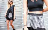 Màu đen-trắng chiếm lĩnh thời trang thu 2013