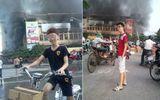 Teen chụp ảnh cười trong đám cháy Hải Dương nói xin lỗi