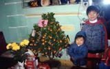 Hình ảnh ngày bé của con trai bầu Hiển