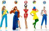 Thời trang lấy cảm hứng từ các duyệt trình web