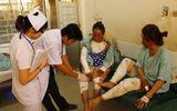 Đồng Nai: Nổ bình gas, hai chị em bỏng nặng