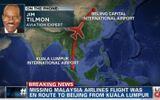 Nhìn thấy máy bay Malaysia mất tích lần cuối khi nào?