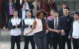 Đệ nhất phu nhân Mỹ  ở Trung Quốc qua hình ảnh