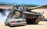 Đến xe tăng cũng…Drift
