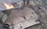 Hình ảnh vụ máy bay rơi ở Hòa Lạc, 17 chiến sỹ hy sinh
