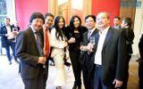 Lý Nhã Kỳ dự triển lãm cung đình Việt Nam tại Pháp