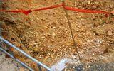 Xúc đất công trình, phát hiện bom 150kg còn nguyên kíp nổ