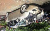 TP HCM: Tai nạn liên hoàn trên cầu vượt, 5 người bị thương