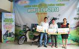 Ole Tưng bừng trao thưởng dự đoán World Cup