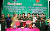 Ký kết đảm bảo an ninh tuyến biên giới Việt - Lào